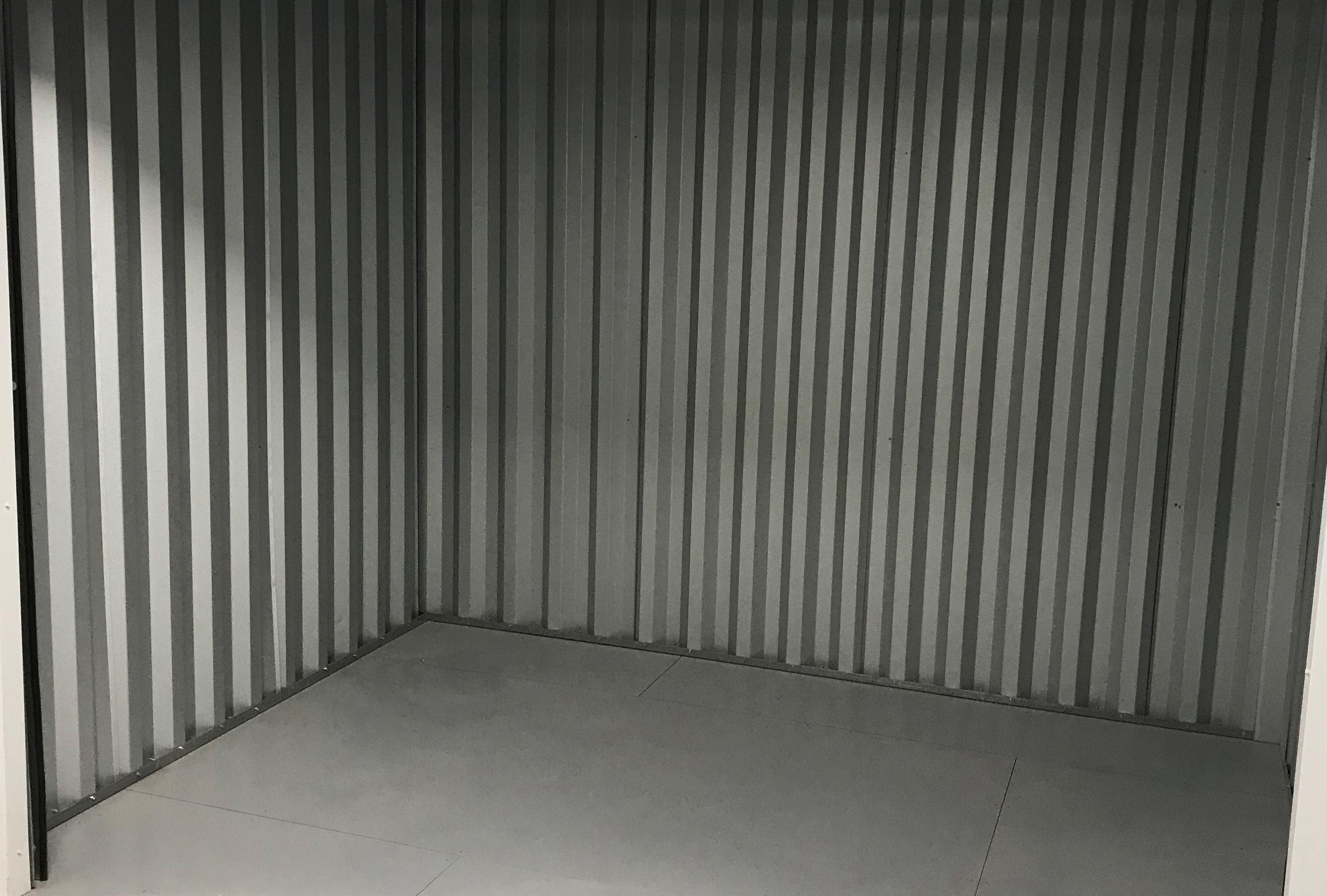 storage units photo of inside contruction