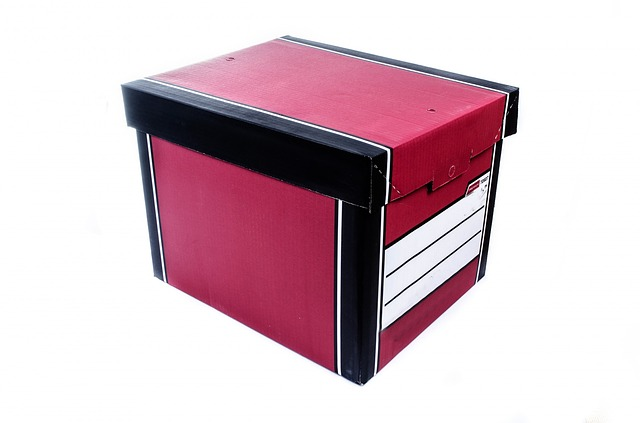 Climate Controlled units for files of important papers storage photo of file box